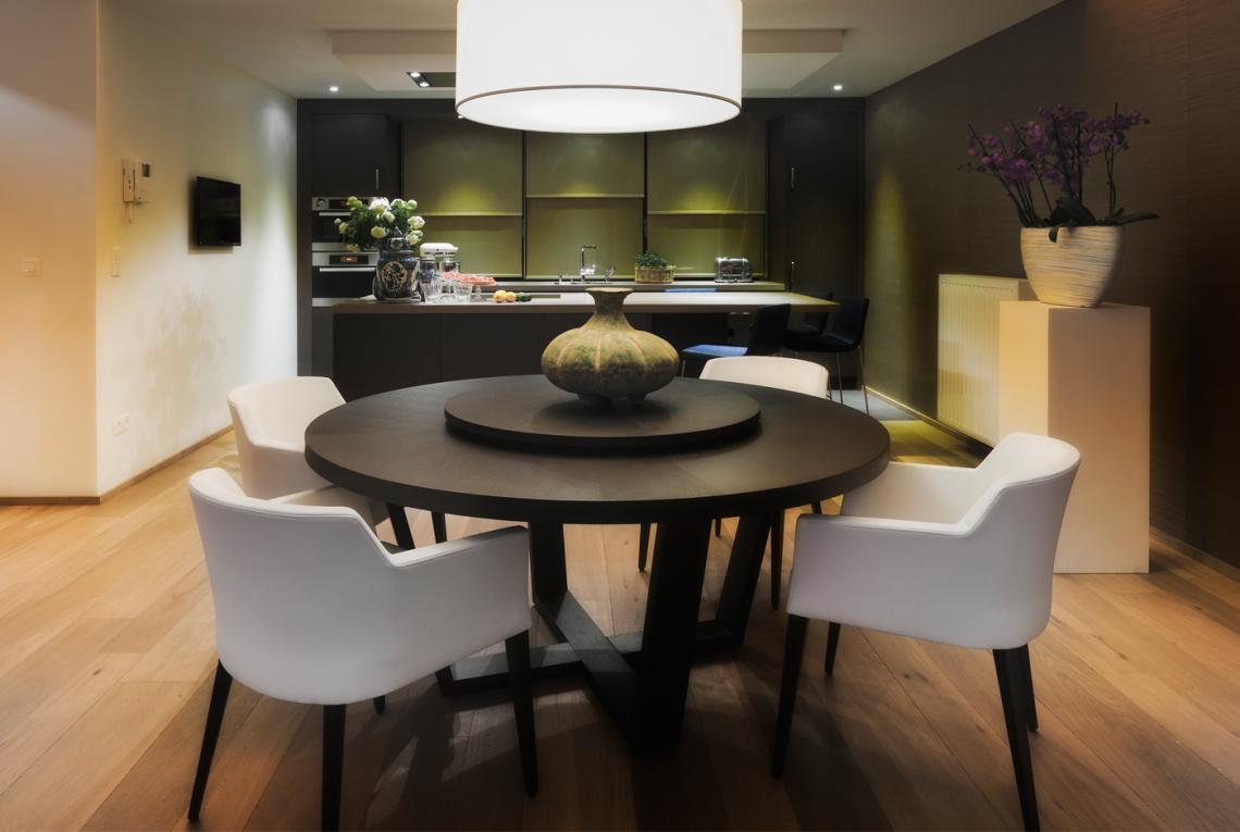Appartement ontwerp hasselt montagna lunga for Interieur hasselt