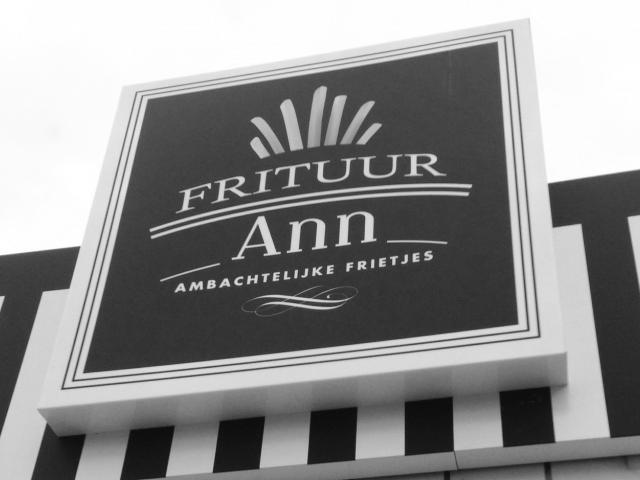 Frituur Ann logo en huisstijl